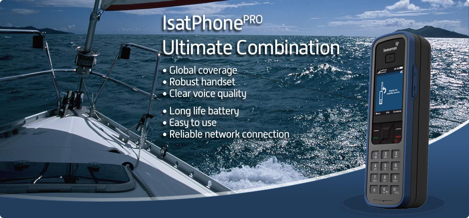 Isatphone Pro Ocean darkest blue