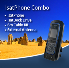Isatphone Combo Blue Fade