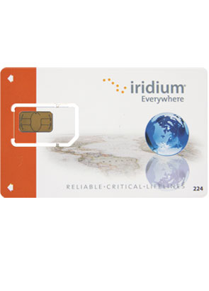 Iridium Simcard Rental